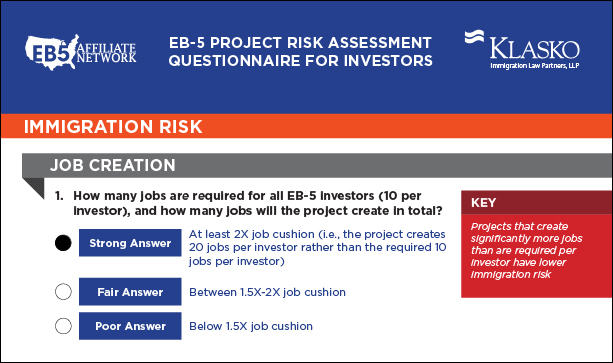 EB-5 Project Due Diligence Investor Checklist Images_5_2 with answer